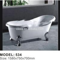 American Style Ancient 4 Feet Simple Acrylic Bathtub