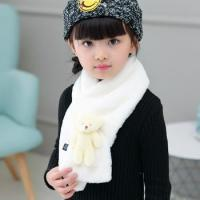 Wholesale children scarf Baby Wholesale Winter Kids Rabbit Fur Scarf from china suppliers