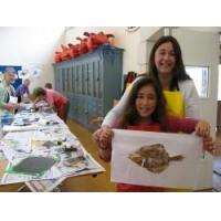 "Wholesale Printmaking Workshop ""Gyotaku"" Japanese fish printing - Pembrokeshire from china suppliers"