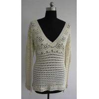 Wholesale crochet ladies vest pattern Fashion Lady Crochet Vest Sweater from china suppliers