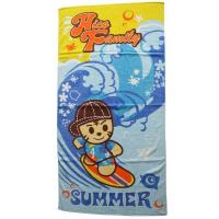 Wholesale Pink Pet 100%cotton Baby beach towel Child printed beach towel from china suppliers