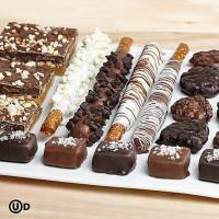 Wholesale Gourmet Gifts & Sweets Handmade Caramel & Pretzel Sampler from china suppliers