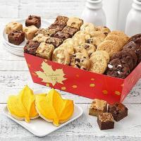 Buy cheap Gourmet Gifts & Sweets Mrs. Fields Autumn Bites Basket from wholesalers