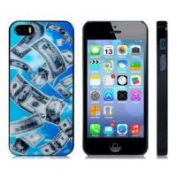 China 3D 100 Dollar Bill Print Plastic Protective Case for iPhone 5/5S on sale