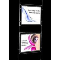 Wholesale Crystal LED Super Slim Light box, 2 Light Pocket kits, Single or Double viewing sides from china suppliers