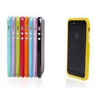 Buy cheap Candy Trim Slim Fit Hybrid Case Colorful Bumper for Apple iPhone 5 5s from wholesalers
