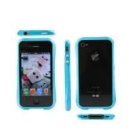 Buy cheap Candy Trim Slim Fit Hybrid Case Colorful Bumper for Apple iPhone 4 4s from wholesalers