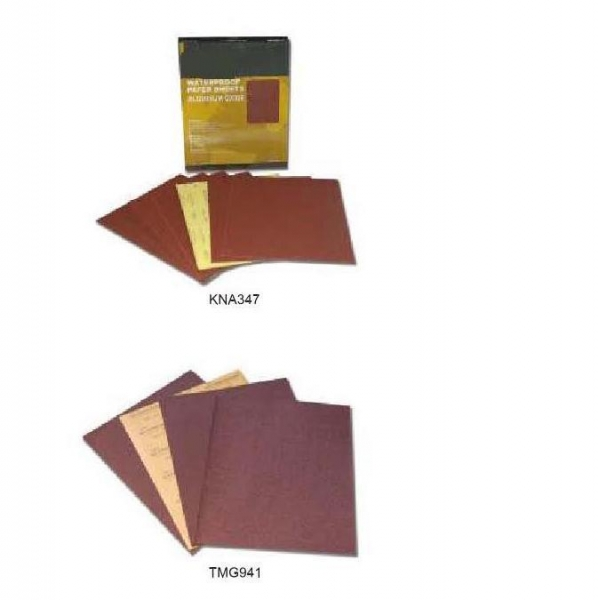 Quality 9x11 Aluminum Oxide Waterproof Sheets for sale
