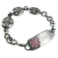 Wholesale DST04 - Deluxe Divine Hope Medical ID Bracelet from china suppliers