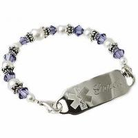 Wholesale Item# DP14 - Color Me Crystals Medical ID Bracelet from china suppliers