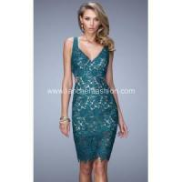 Buy cheap V-Neck Sexy Lace Dress from Wholesalers