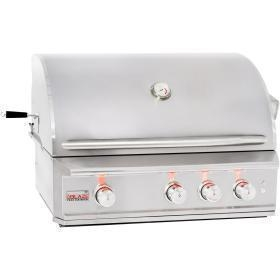 Quality Blaze Professional 34-Inch Built-In Natural Gas Grill With Rear Infrared Burner - BLZ-3PRO-NG for sale