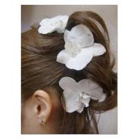 Wholesale This is a hair accessory with a set of three elegant and gorgeous phalaenopsis orchids from china suppliers