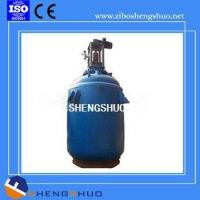 China F-Typed 1000L-30000L Glass Lined Continuous Stirred Tank Reactor For Chemical Processing on sale