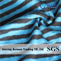 Wholesale The Black-bule Stripe Linen Fabric from china suppliers