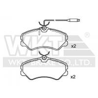 Wholesale Brake Pad Set Catalogue WKT19009 from china suppliers