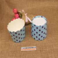 JZ-24: Black Round Dot Blue Paper Polka Dot Printing Mechanism of Cup