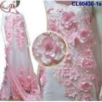 Wholesale CL17-143 (7) Top Selling White Swiss Voile Lace Big 100% Cotton Lace with Embroidery Design from china suppliers