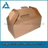 China 2014 new style Custom paper cardboard suitcase box with handle on sale