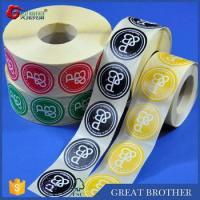 Wholesale Rolls of labels and stickers for custom printing,round shape stickers from china suppliers