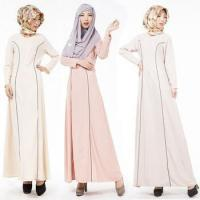 Buy cheap 2016 Aliexpress hot design long sleeves O neck casual muslim clothing for women MSL0020 from Wholesalers