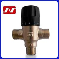 Wholesale 1/2inch Brass Thermostatic Mixing Valve from china suppliers