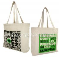 China canvas bag canvas cotton tote bag wholesale in China on sale