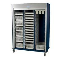 Wholesale Preconfigured Triple Column Medical Storage Cart with Tambour Door #MS8160-CYSTO from china suppliers