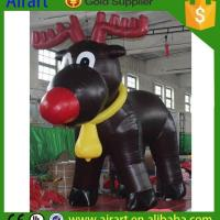 Wholesale Christmas Inflatables Inflatable Blow up deers from china suppliers