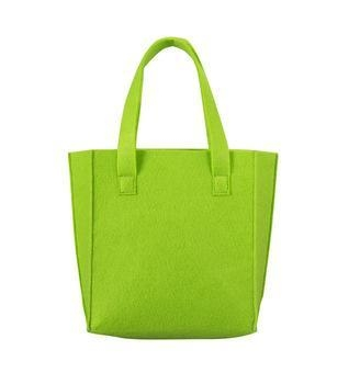 Colorful felt full color printing tote female lunch bag of ...