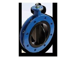 Wholesale Rubber Seat Flange Butterfly Valve from china suppliers