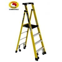 Wholesale 2 Ladder Set - Podium Ladder with Casters from china suppliers