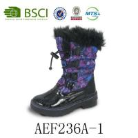 Wholesale Wholesale Lace-up Fur Fashion Waterproof Warm Winter Snow Boot for Women from china suppliers