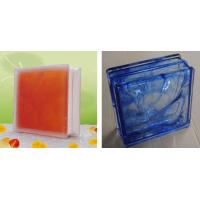 China Inner Colored Glass Block on sale