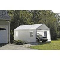 Buy cheap Shelter Logic 10 x 20 Canopy Enclosure Kit - White w/ Windows for 1-3/8 Inch Frame from wholesalers