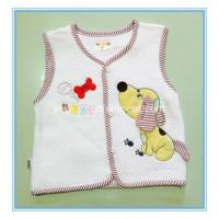 Buy cheap cotton comfortable baby vest from Wholesalers