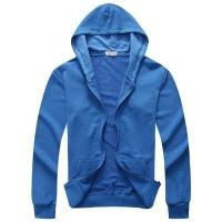 Wholesale 350g Fleece Sweatshirt Zipper With Hooded Sports Blank Hoodies from china suppliers