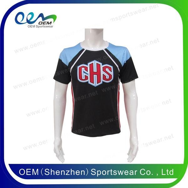 Men cheerleading short sleeve top of item 48991620 for Door 84 youth club