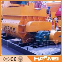China Good Quality JS500 Double Shaft Electric Concrete Mixer on sale