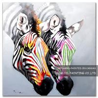 Wholesale Number:OSM-An10049Modern OriginalAbstract OilpaintingsHorse on canvas from china suppliers