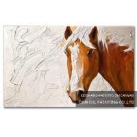 Wholesale Number:OSM-An10006Modern OriginalAbstract OilpaintingsHorse on canvas from china suppliers