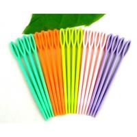 Wholesale High Quality Cheap Colorful Plastic Sewing Needles For Adults And Children from china suppliers