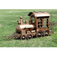 China MEDIUM SIZE TRAIN PLANT STAND VALIKO COPPER COLOR on sale