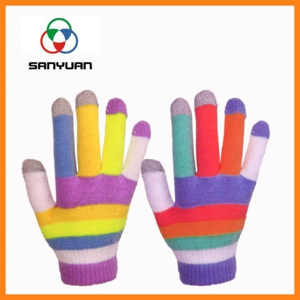 Anti Static Products : Knit anti static gloves conductive of item