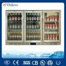 China 3 Doors Stianless Steel Back Bar Cooler,Underbar Freezer,CE,CB,MEPS,GAS Approved_LG-330B