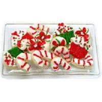Wholesale Christmas Sweets on Clear Tray BDK1161 from china suppliers