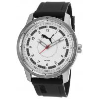 Wholesale Men's Watches Men's Black Rubber White Dial from china suppliers