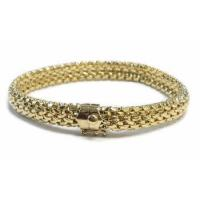 Wholesale Customize It SALE - 14k Mesh Gold Bracelet from china suppliers