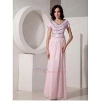 Wholesale Baby Pink Sequined Floor-length Cheap Prom Dress With Crystal from china suppliers