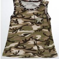 Buy cheap Camouflage Baby Sleeveless Top from Wholesalers